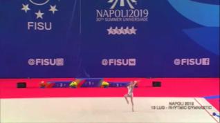 Universiadi Napoli 2019 – Puntata 11 – Finali Ginnastica Ritmica