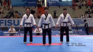 Universiadi Napoli 2019 – Puntata 6 Parte 1 – Finali Taekwondo a Squadre